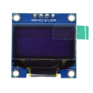 OLED Display 0,96 weiß
